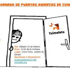 2013 JORNADA DE PUERTAS ABIERTAS EN TXIMELETA