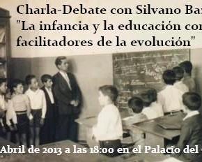Charla-Debate, La infancia y la educación como facilitadores de la evolución