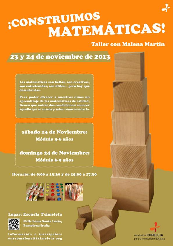 cartel matemáticas