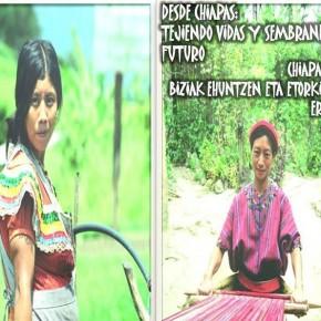 """Charla """"desde Chiapas tejiendo vidas, sembrando futuro"""""""