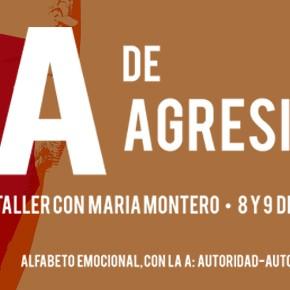 A de Agresividad. Taller con María Montero. 8 y 9 de febrero de 2014