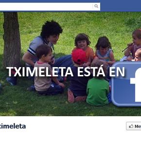 Tximeleta está en Facebook
