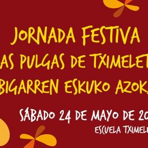 *Actualizado: Jornada Festiva Las Pulgas de Tximeleta/Bigarren eskuko azoka en Tximeleta, calle Loma de santa Lucía, Pamplona