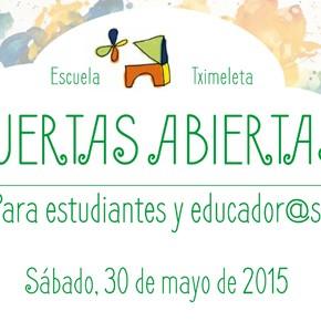 Jornada de Puertas Abiertas para Estudiantes y Educador@s