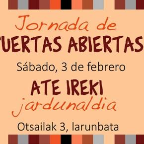 JORNADA DE PUERTAS ABIERTAS EN TXIMELETA, Sábado 3 de febrero de 2018