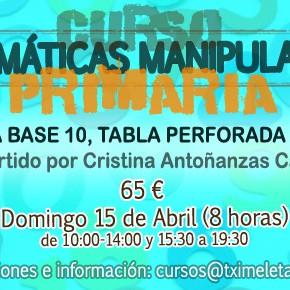 MATEMÁTICAS MANIPULATIVAS EN PRIMARIA