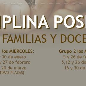 DISCIPLINA POSITIVA PARA FAMILIAS Y DOCENTES