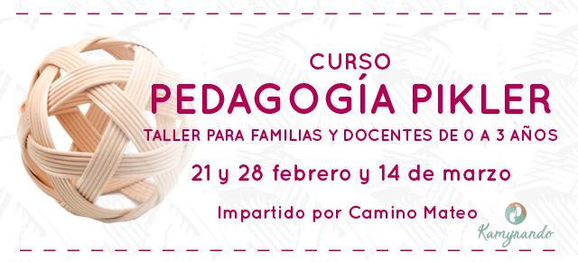 CURSO: PEDAGOGÍA PIKLER. TALLER PARA FAMILIAS Y DOCENTES DE 0 A 3 AÑOS.