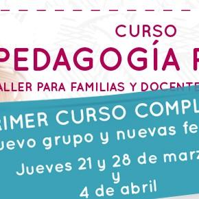 Nuevo Grupo: PEDAGOGÍA PIKLER. TALLER PARA FAMILIAS Y DOCENTES DE 0 A 3 AÑOS.