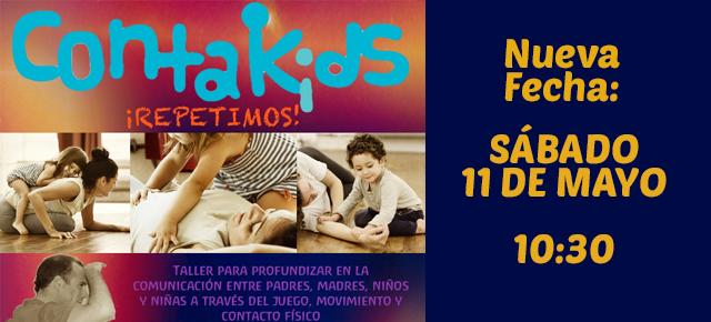 11 de Mayo: Nuevo Taller de Kontakids en Tximeleta