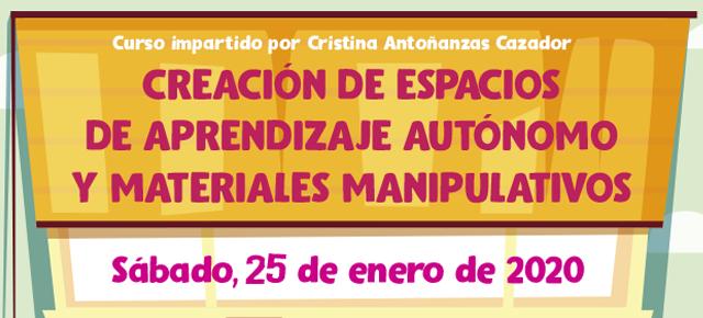 Creación de espacios de aprendizaje autónomo y materiales manipulativos